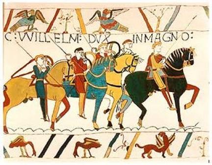 la conquista normanna su http://en.wikipedia.org/wiki/Norman_conquest_of_England
