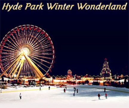 Winter Wonderland ad Hyde Park - foto dal sito London Hotel