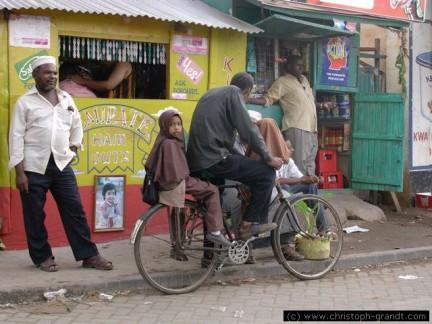 una strada di Malindi