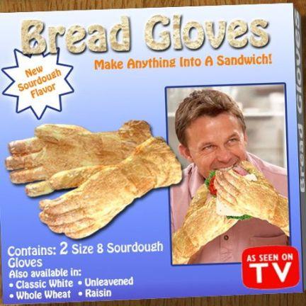 guanti di pane