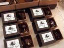 chocolats dans leurs boites