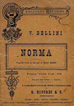 libretto norma