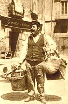 venditore di taralli