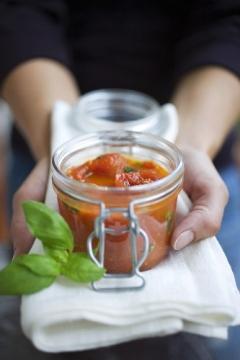 vaso di pomodoro