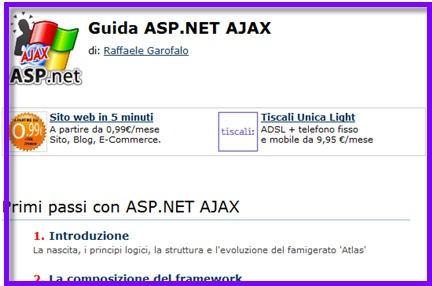 ajax esempi, ajax script, manuale ajax, ajax download