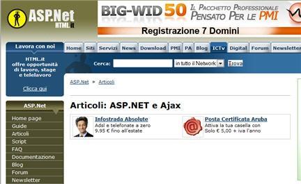 ajaxasp.net,ajaxtutotrial,ajax esempi, ajax script
