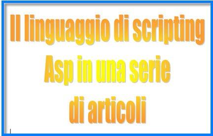 asp net server, asp tutorial, guida asp, script asp
