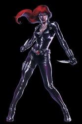 Vedova Nera - Marvel - Iron Man -