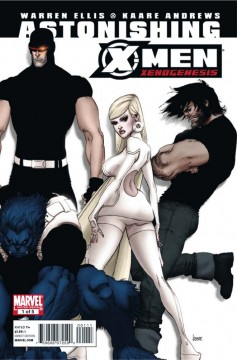 kaare andrews, marvel comics anteprima, x-men