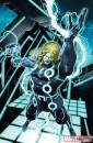 Ecco alcune cover di Brandon Peterson dei personaggi della Marvel in versione Tron!