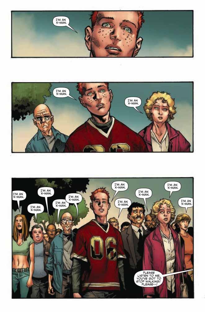 Ecco l'anteprima del primo numero di Dark X-Men! Attenzione Spoiler!