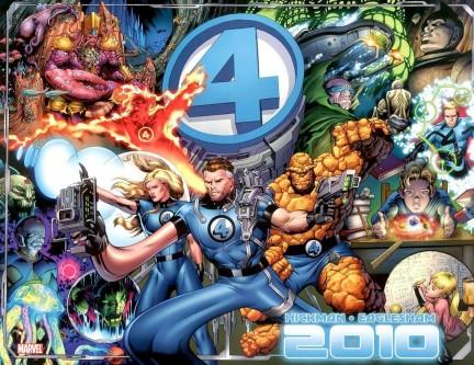 dale eaglesham, fantastici quattro, marvel comics cover