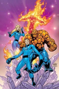 carlos pacheco, fantastici quattro, marvel comics cover