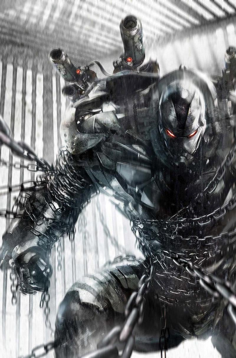 Le cover dalla serie di war machine disegnate da francesco mattina