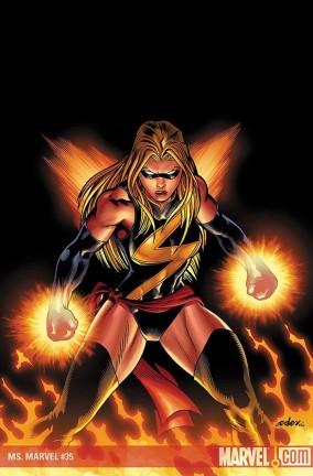 Anteprima da Ms Marvel #35, post Secret Invasion