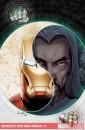 Ecco alcune cover di Salvador Larroca direttamente dalle serie di Iron Man!
