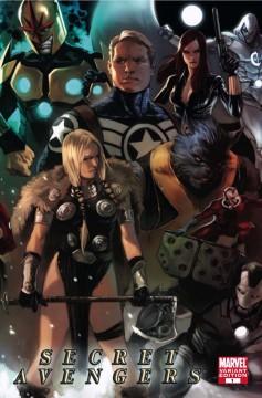 marvel comics anteprima, mike deodato jr, secret avengers
