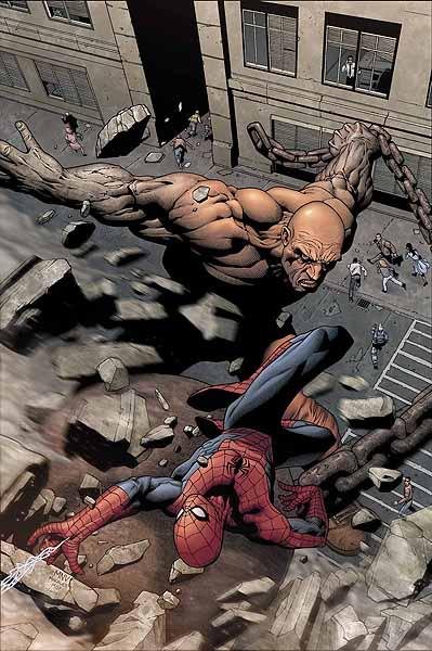 Ecco alcune cover di Steve McNiven da una delle tante serie dell'Uomo Ragno!