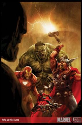 Le cover delle storie di Thor #119