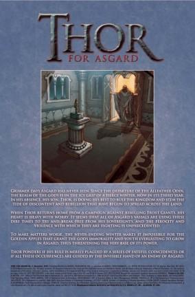 Ecco un'anteprima dal secondo numero di Thor: For Asgard!