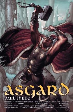 Ecco l'anteprima dal terzo numero di Thor: For Asgard!