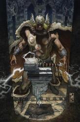 marvel comics cover, simone bianchi, thor