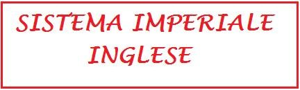 sistema imperiale inglese