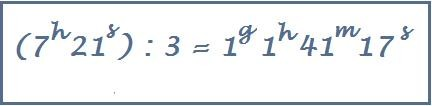 divisione di un numero complesso per una frazione