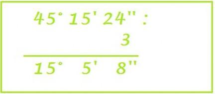 divisione di un numero complesso per un numero intero
