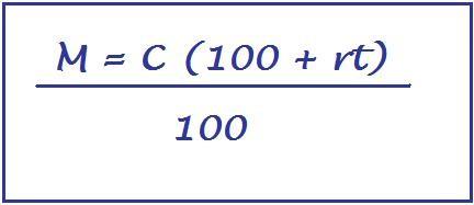 formula del montante