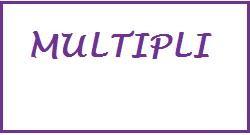 i multipli
