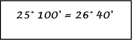 numeri complessi ridotti a forma normale