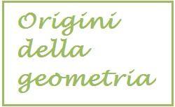origini della geometria