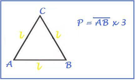 perimetro triangolo equilatero