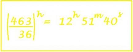 riduzione di frazioni in numeri complessi