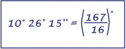 riduzione di numeri complessi in frazioni