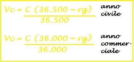 Qual la formula del valore attuale commerciale quando usiamo l 39 anno commerciale - Calcolo valore immobile commerciale ...