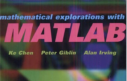 libri matlab,appunti matlab,esercizi matlab,matematica con matlab