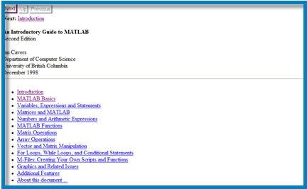 download matlab, esercizi matlab, file matlab, manuale matlab