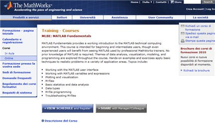 seminari matlab,corsi matlab,tutorial matlab,webinar matlab,guide matlab