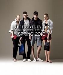 burberry primavera estate 2010