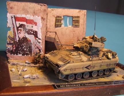 M2 Bradley - Desert Storm, 1991