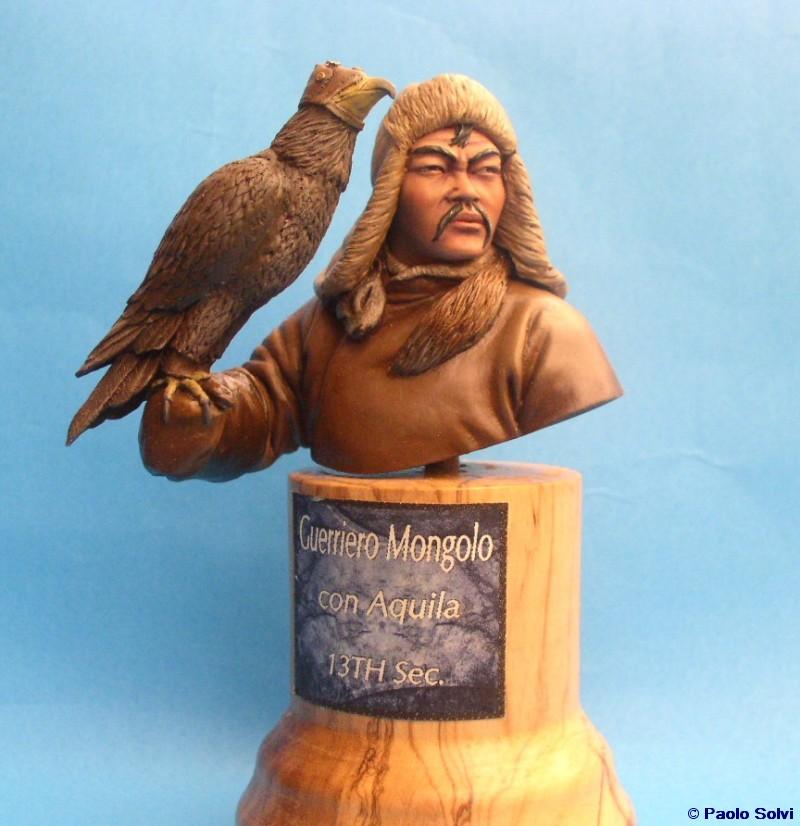 Mongolo con aquila © Paolo Solvi - Click to enlarge