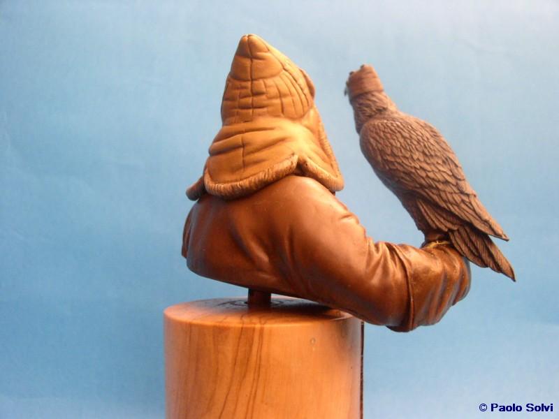 Mongolo con aquila - © Paolo Solvi - Click to enlarge