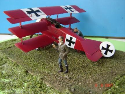 Fokker Dr. I - Marco Vergani