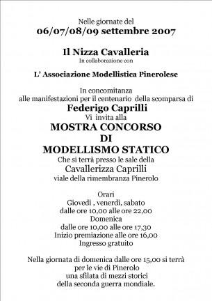 II° Mostra Concorso Nazionale di Modellismo Statico a Pinerolo