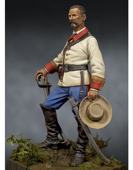 Spanish Cavalry Officer. Cuba, 1898