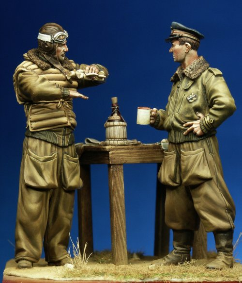 Il Capitano Buscaglia e il Tenente Cimicchi - La Meridiana