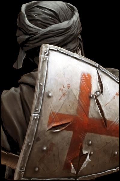 Templar Knight in Jerusalem