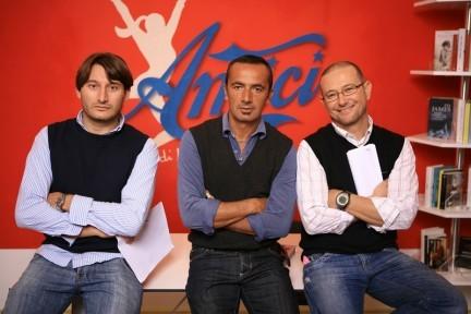 i 3 autori di Amici Monaco, Zanforlin e Sfondrini